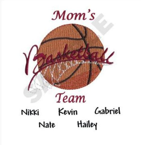 Mom's Basketball Team Shirt