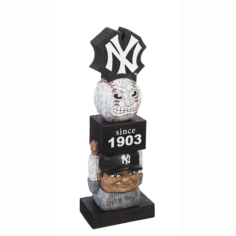 New York Yankees Vintage Baseball Tiki Totem