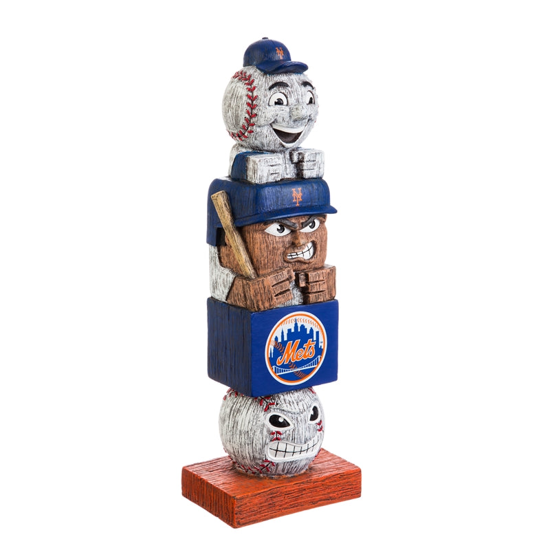 New York Mets Baseball Tiki Totem