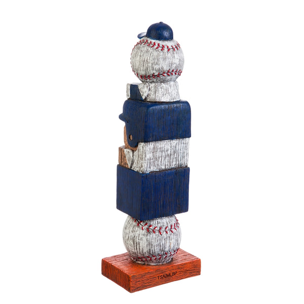 New York Mets Baseball Tiki Totem back