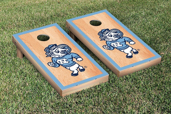 North Carolina Cornhole Boards, Custom All Weather Cornhole Bags & Carrying Case Package