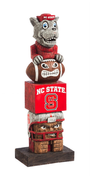 North Carolina University NCAA Football Tiki Totem