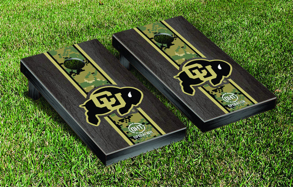 University of Colorado Cornhole Boards, Custom All Weather Cornhole Bags & Carrying Case Package