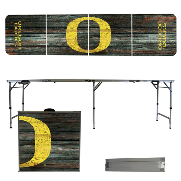 Oregon Ducks 2' x 8' Tailgate Pong Table