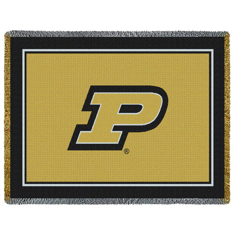 "Purdue ""P"" College Throw"