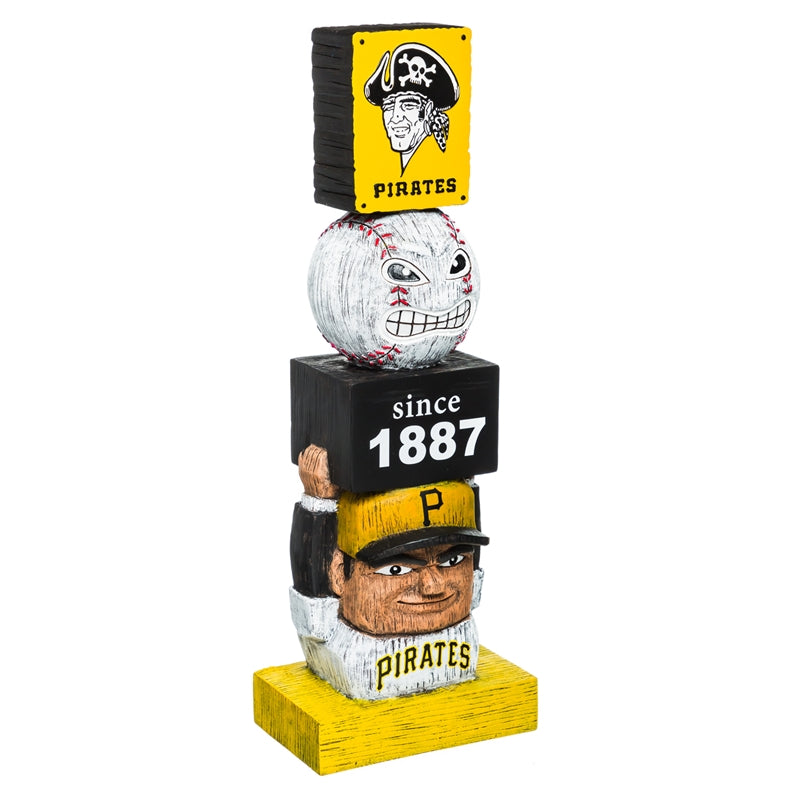 Pittsburgh Pirates Vintage Baseball Tiki Totem