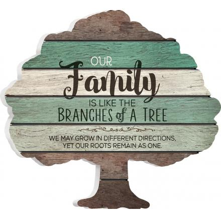 Our Family is Like The Branches of a Tree.  We may grow in Different Directions, Yet Our Roots Remain as One.
