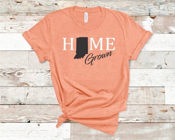Home Grown Heather Sunset T-shirt