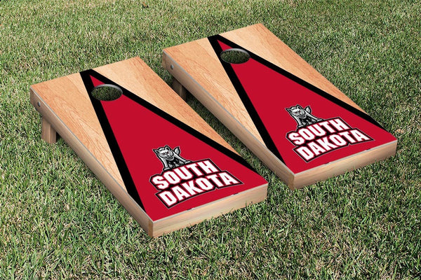 South Dakota Cornhole Boards, Custom All Weather Cornhole Bags & Carrying Case Package
