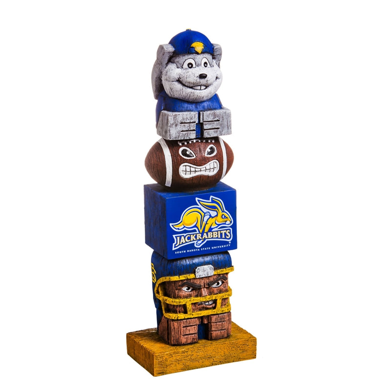South Dakota University NCAA Football Tiki Totem