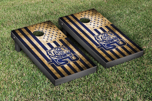 Tennessee State Cornhole Boards, Custom All Weather Cornhole Bags & Carrying Case Package
