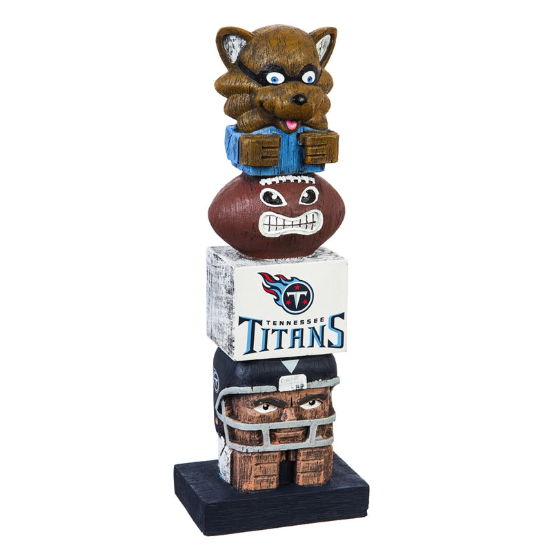 Tennessee Titans Football Tiki Totem