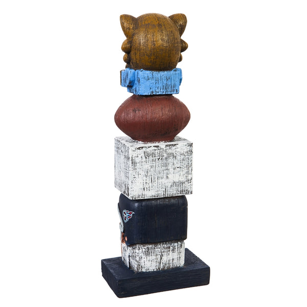 Tennessee Titans Football Tiki Totem back