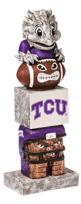 Texas Christian University NCAA Football Tiki Totem