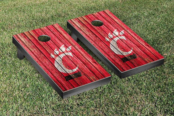 University of Cincinnati Cornhole Boards, Custom All Weather Cornhole Bags & Carrying Case Package