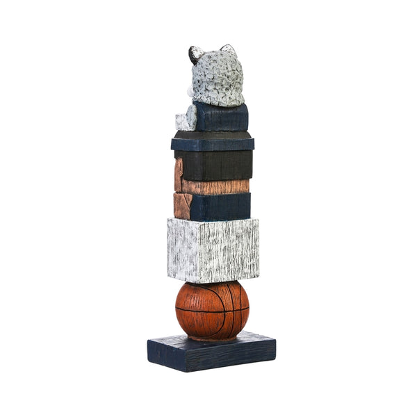 University of Connecticut NCAA Football Tiki Totem back
