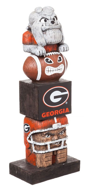 University of Georgia NCAA Football Tiki Totem