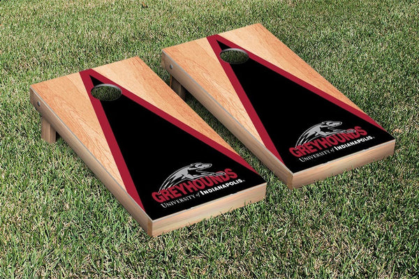 Indianapolis Greyhounds Cornhole Boards, Custom All Weather Cornhole Bags & Carrying Case Package