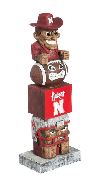 University of Nebraska NCAA Football Tiki Totem