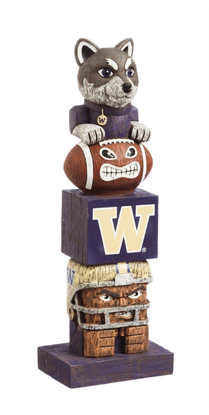 University of Washington NCAA Football Tiki Totem