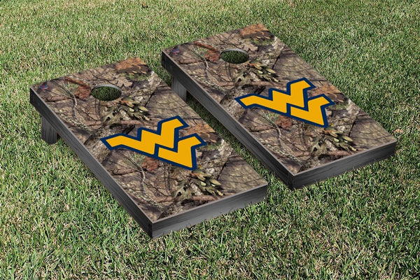 West Virginia Cornhole Boards, Custom All Weather Cornhole Bags & Carrying Case Package