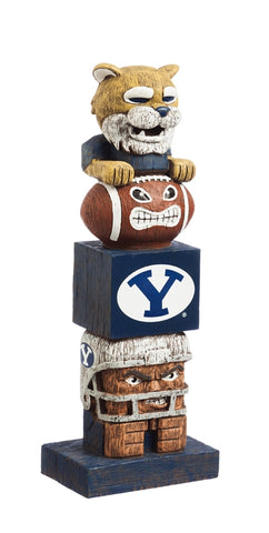 Brigham Young University NCAA Football Tiki Totem