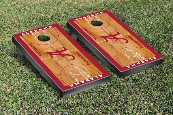 Alabama Crimson Tide Cornhole Boards, Custom All Weather Cornhole Bags & Carrying Case Package
