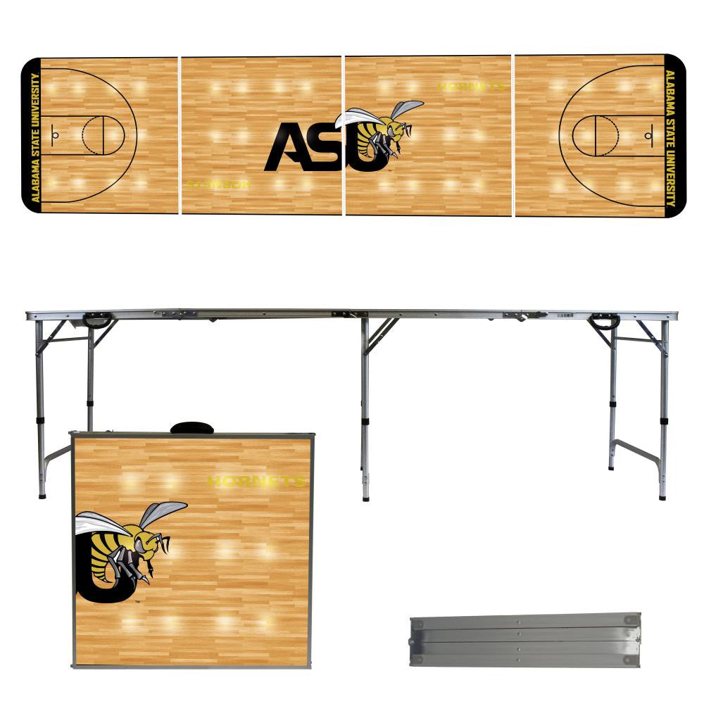 Alabama State University 2' x 8' Tailgate  Pong Table