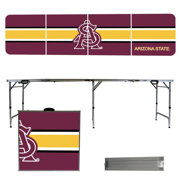 Arizona State 2' x 8' Tailgate  Pong Table
