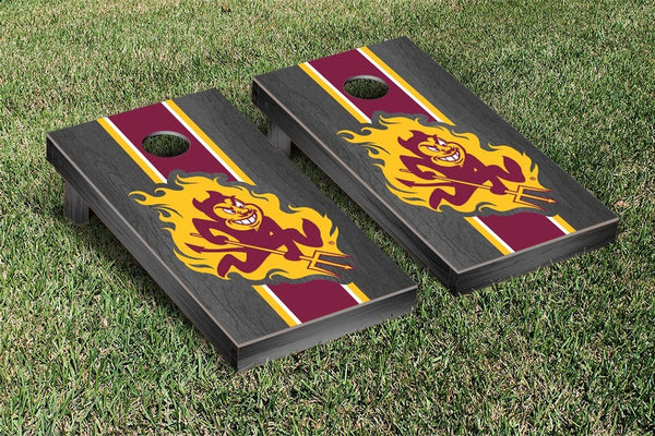 Arizona State Cornhole Boards, Custom All Weather Cornhole Bags & Carrying Case Package