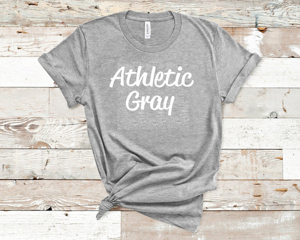 Athletic Gray Bella Unisex T-Shirt