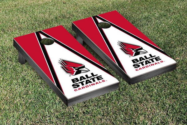 Ball State Cornhole Boards, Custom All Weather Cornhole Bags & Carrying Case Package