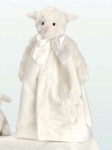 Blessings Lamb Snuggler Security Blanket