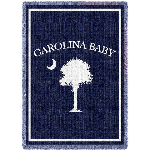 Carolina Baby Boy Blanket