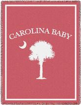 Carolina Baby Girl Blanket