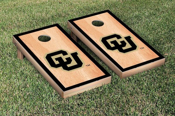 University of Colorado Cornhole Boards & Standard Bags