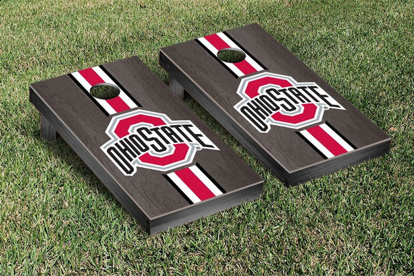 Ohio State Cornhole Boards, Custom All Weather Cornhole Bags & Carrying Case Package