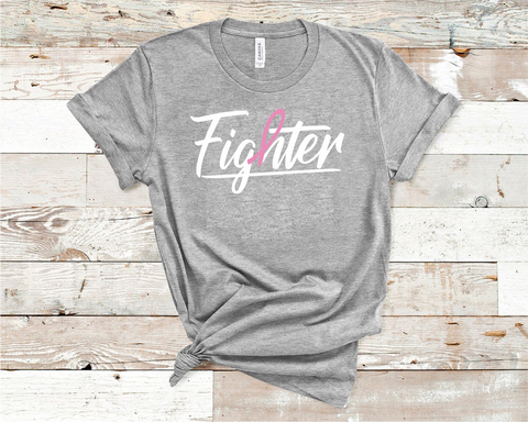 Fighter Cancer T-Shirt