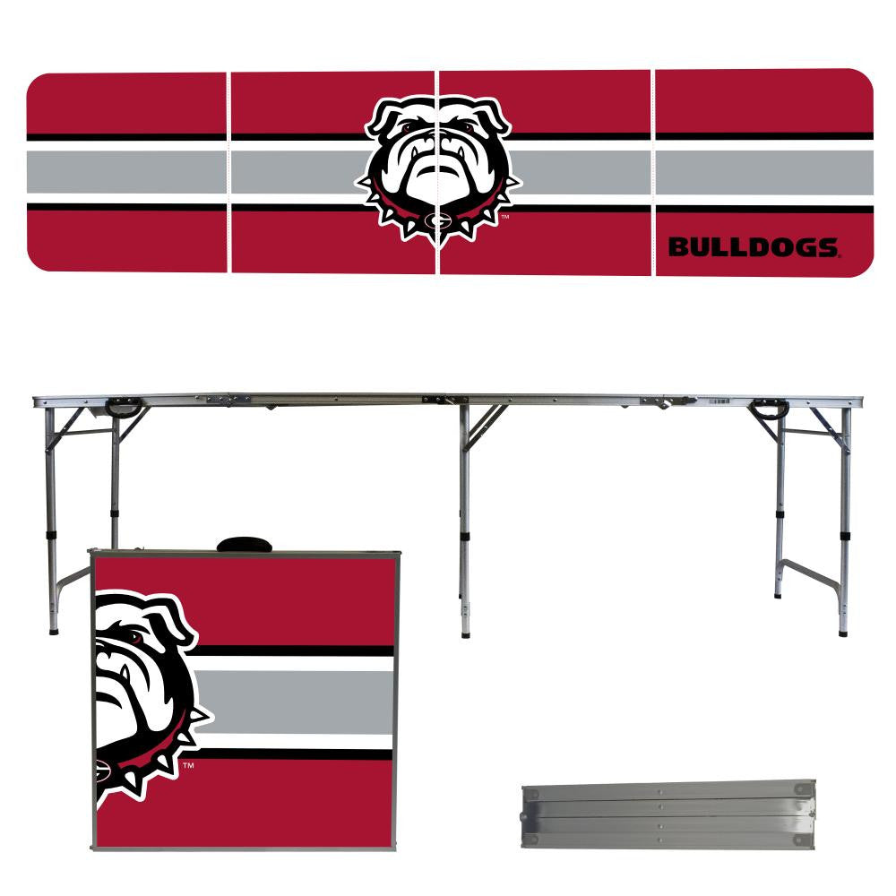 Georgia Bulldogs 2' x 8' Tailgate Pong Table