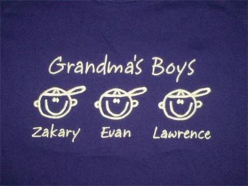 Grandma's Boys Embroidered Sweatshirt