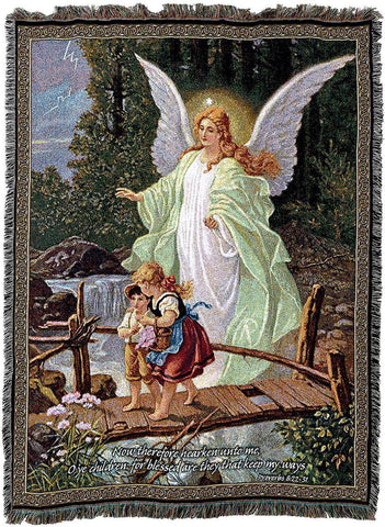 Guardian Angel Sympathy Bereavement Blanket