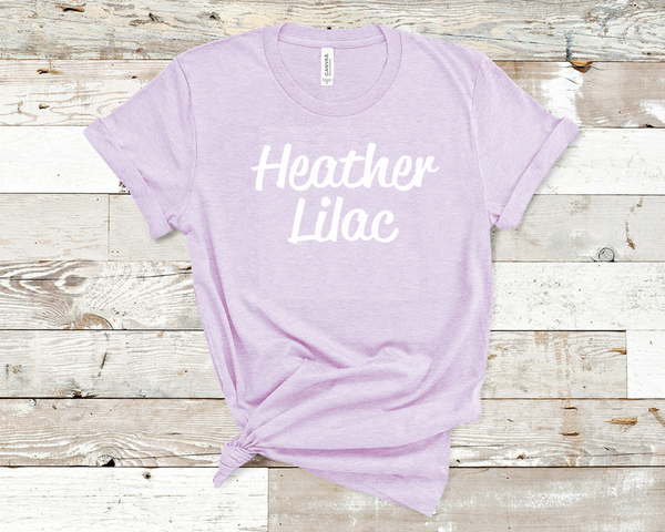 Heather Lilac Bella Unisex T-Shirt