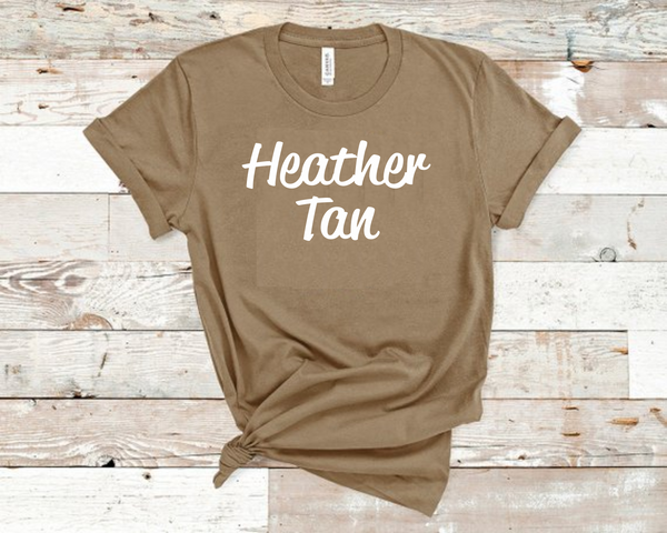 Heather Tan Bella Unisex T-Shirt