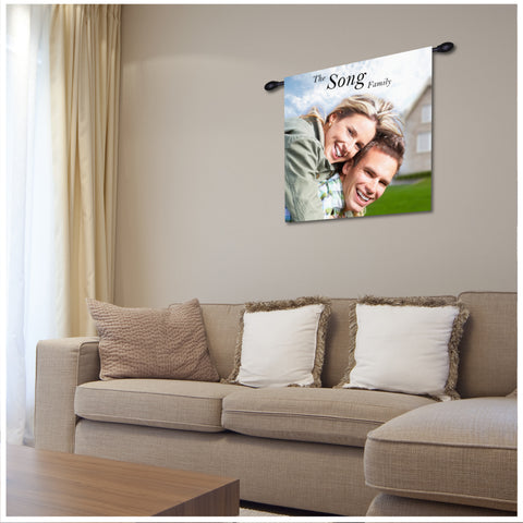 Custom House Photo Wall Hanging