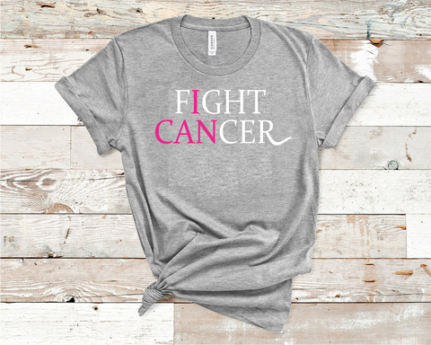 I Can Fight Cancer Shirt