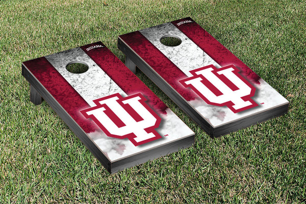Indiana University Cornhole Boards, Custom All Weather Cornhole Bags & Carrying Case Package