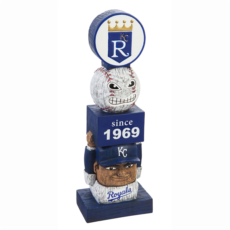 Kansas City Royals Vintage Baseball Tiki Totem