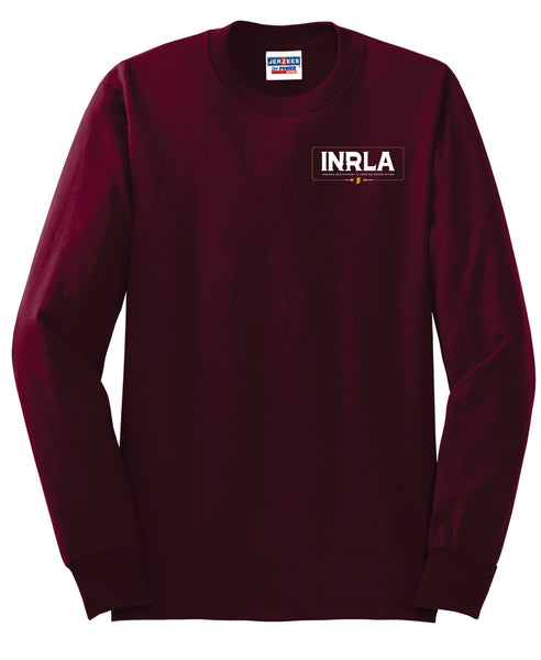 Maroon Long Sleeve T-Shirt