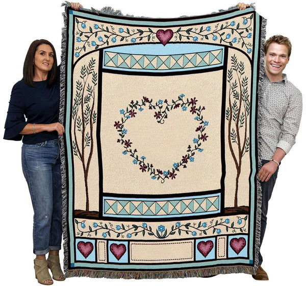 Love Quilt Throw