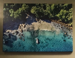 Beautiful Canvas Print of Caribbean